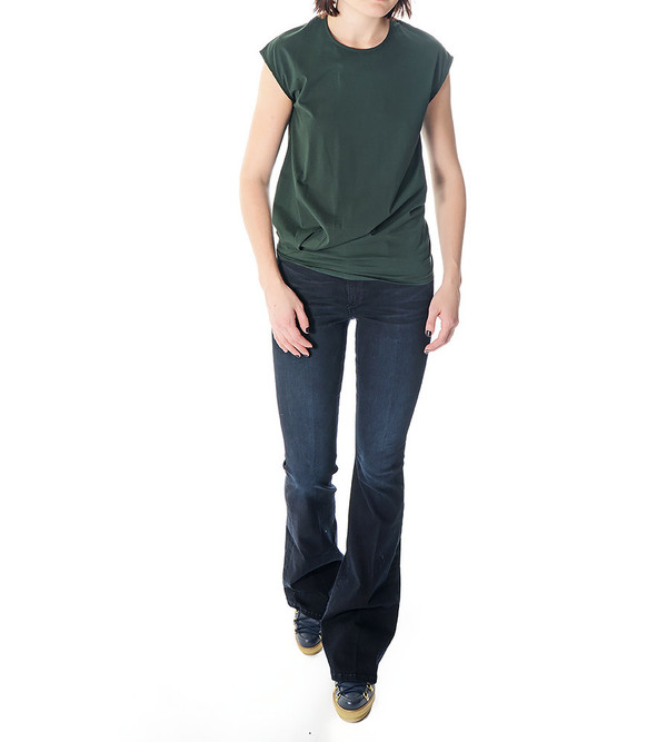 08sircus Green Cap Sleeve T-Shirt