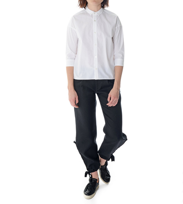 08sircus White Button-Up Blouse