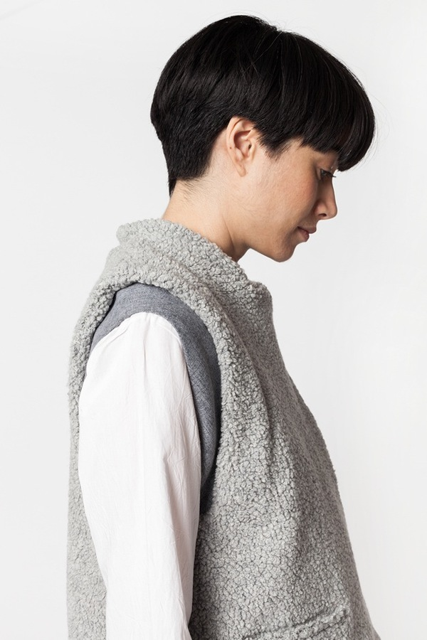 Reality Studio Sign-e Waistcoat - Gray