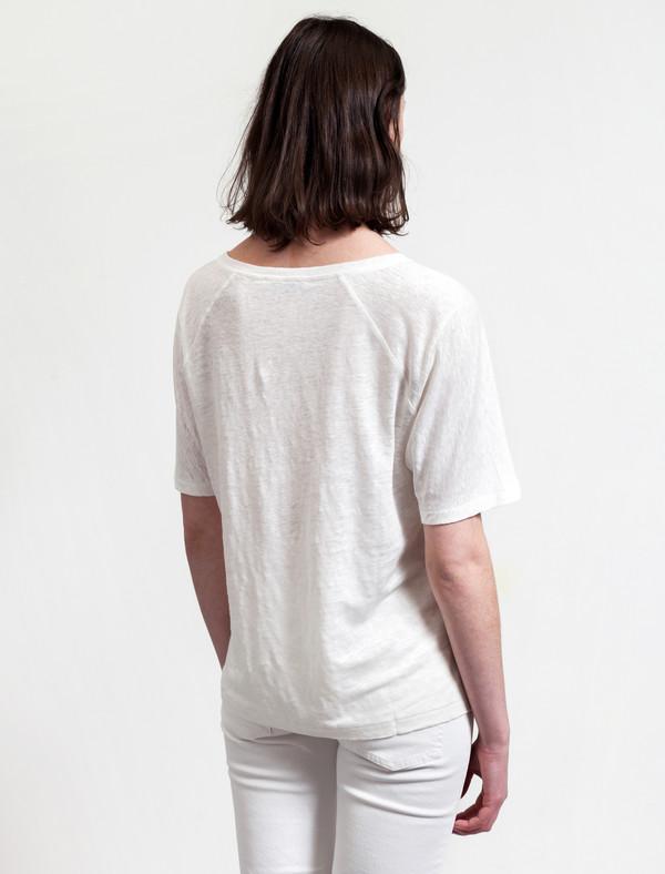 Acne Studios Nairobi Linen Pearl White