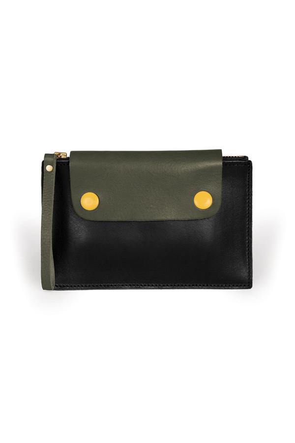 Men's Sylvan Park Leather Bidwell Mini Zip Pouch