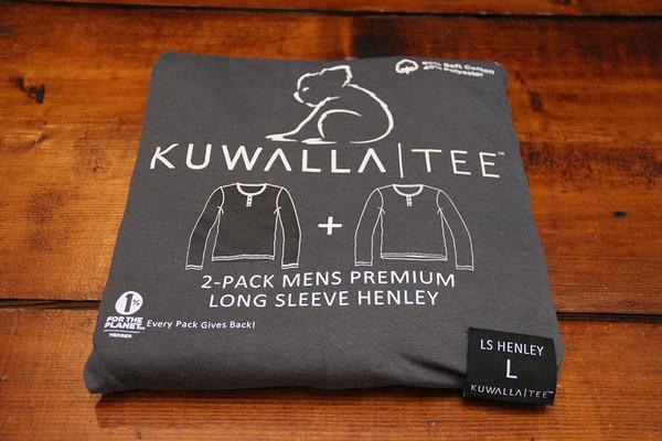 KuwallaTee L/S Henley 2 Pack