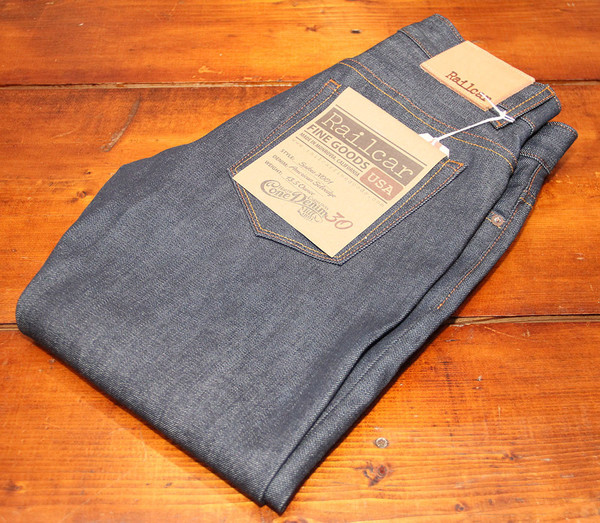 Men's Railcar Fine Goods - Spikes X001 Amer Cone Mills 13.5oz Red Line Selvedge