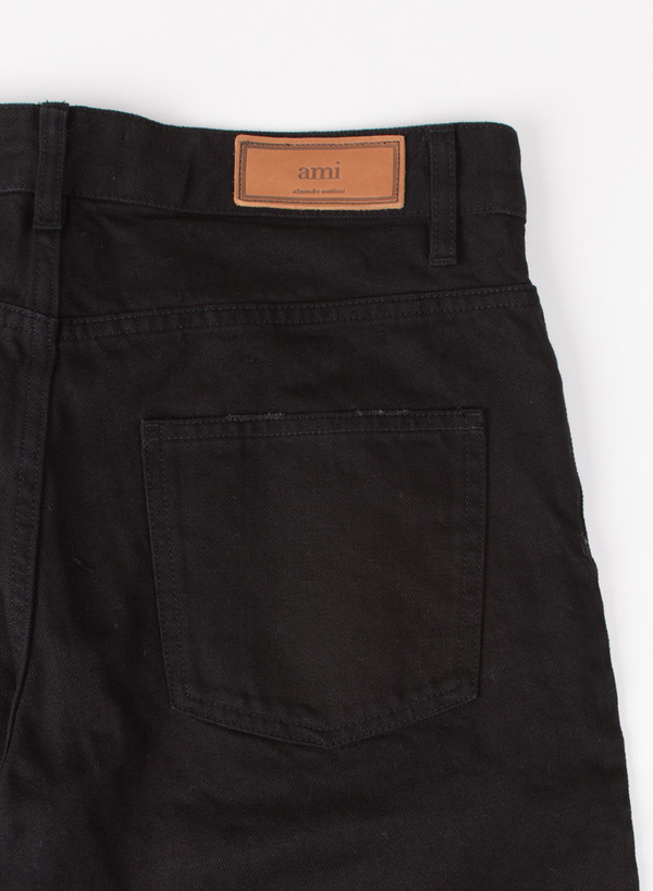 Men's AMI Fit 5 Pocket Jeans Raw Black