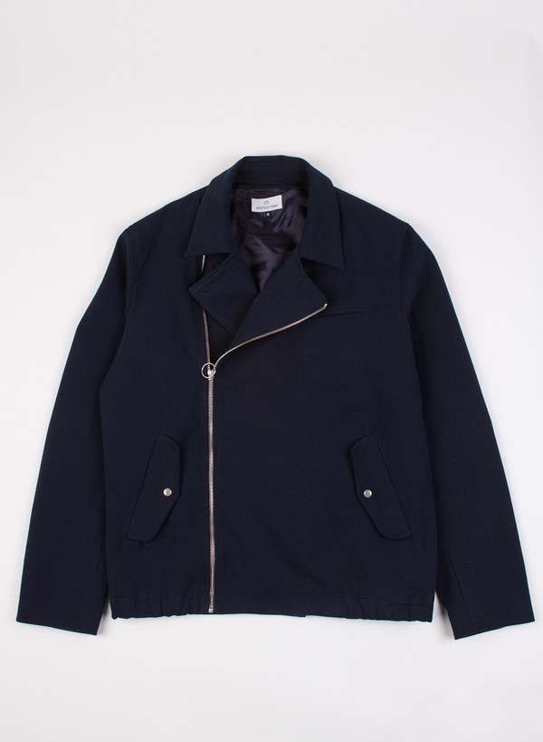 Men's Hentsch Man Asymmetric Jacket Navy