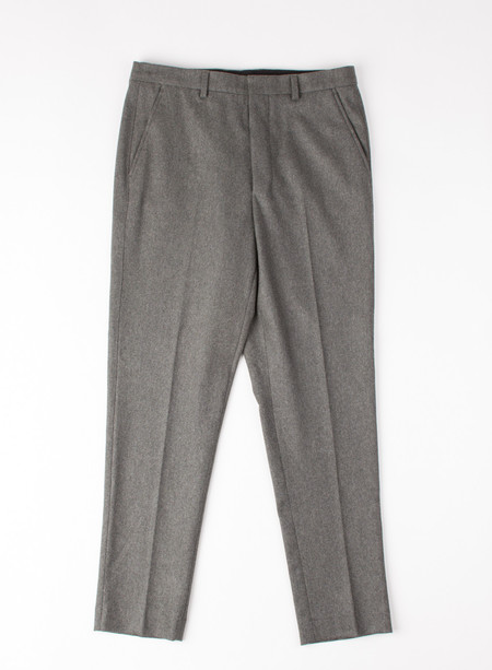 Men's AMI Alexandre Mattiusi Carrot Fit Trouser Flannel Grey