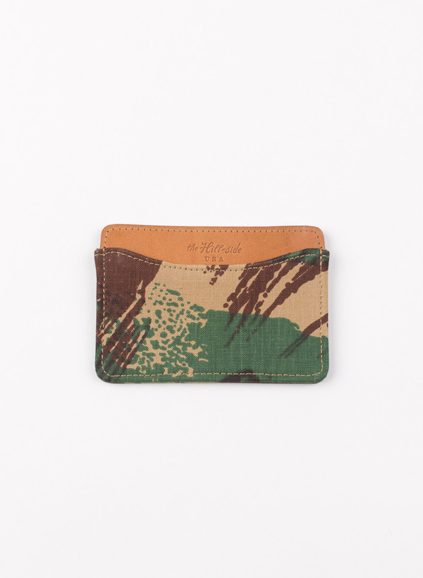 "Men's The Hill-Side French ""Lizard"" Camo Card Case"