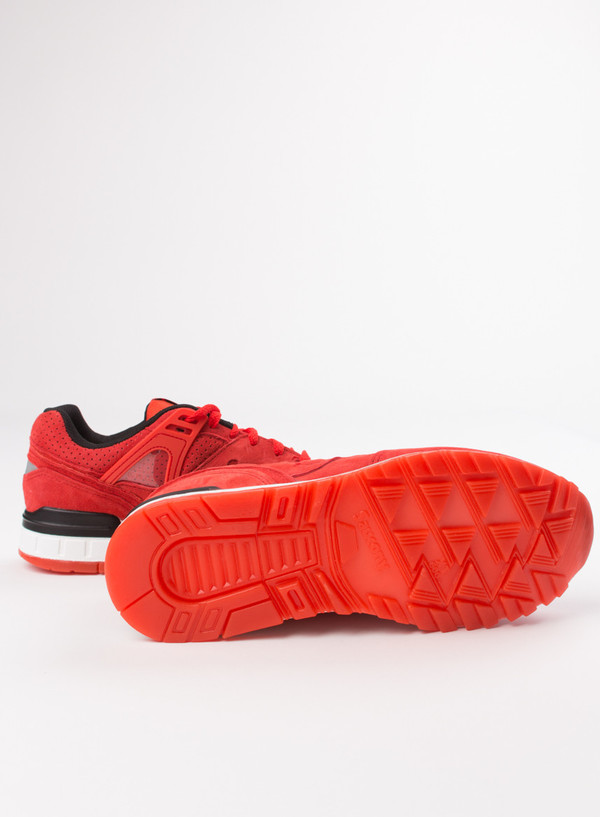 Men's Saucony Grid SD Red
