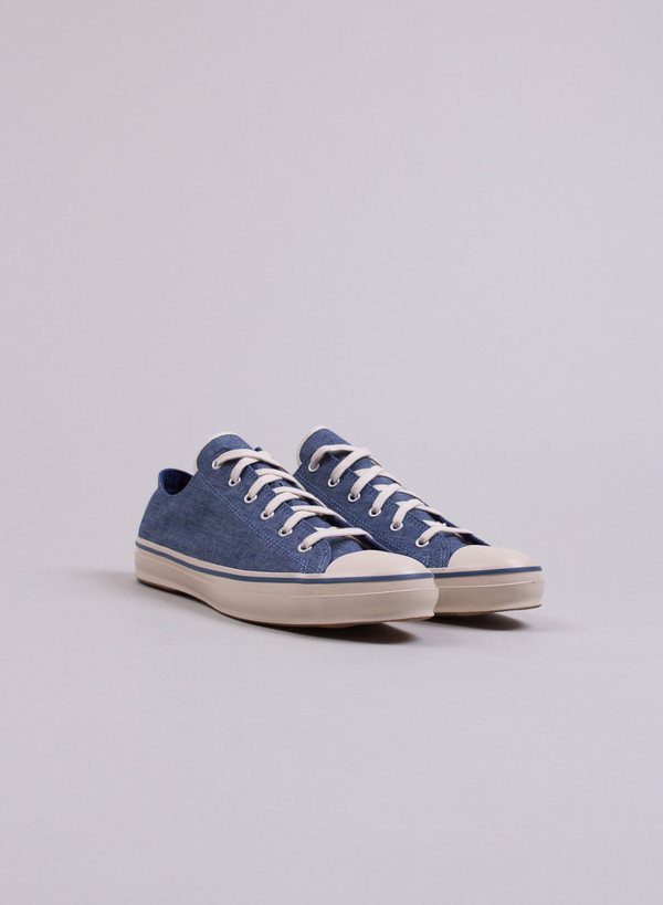 Men's The Hill-Side Indigo Chambray Low Top Sneakers