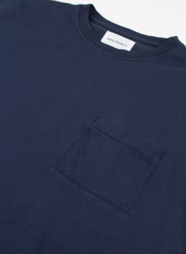 Niels Pocket Overdyed Dark Indigo