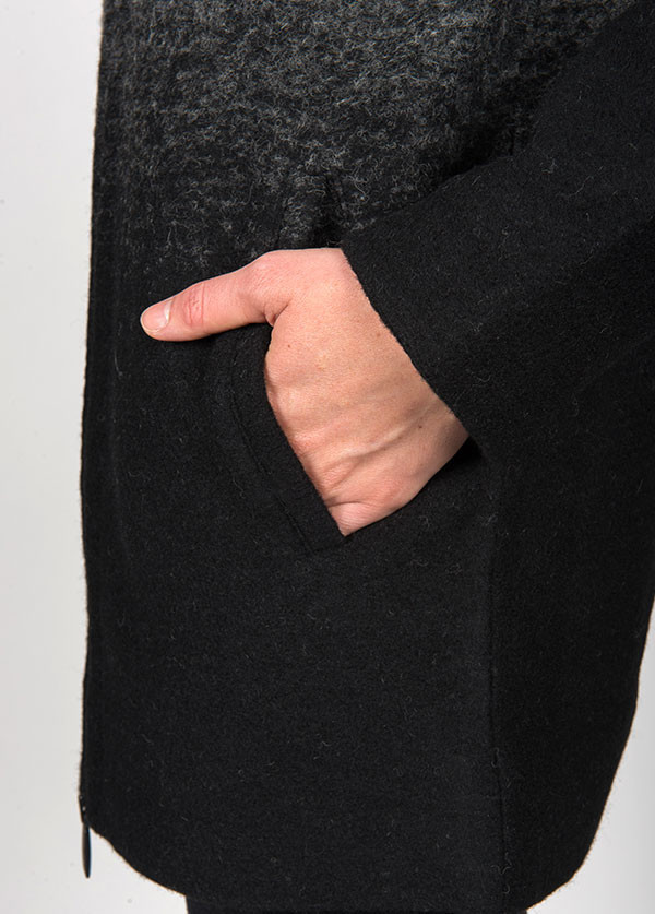 Line Knitwear - The Wythe Coat