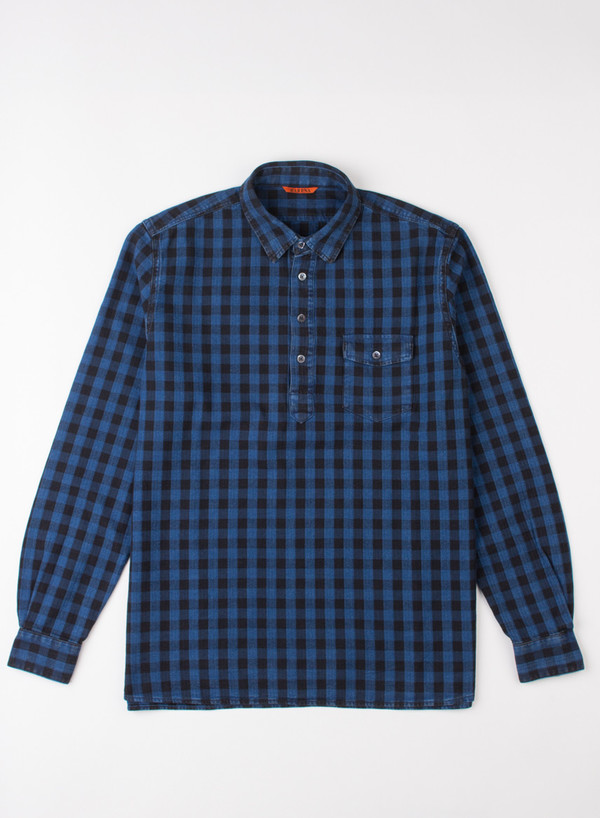 Men's Barena Shirt Olindo Navy