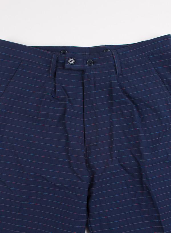 Men's Camo Shoenefeld Horizontal Stripe Shorts Blue