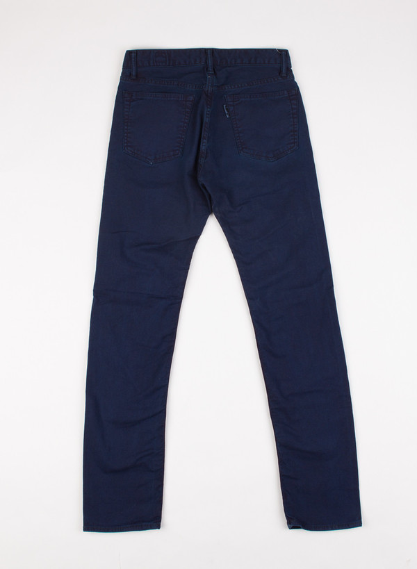 Men's Blue Blue Japan Stretch Twill Hand Dyed Jeans