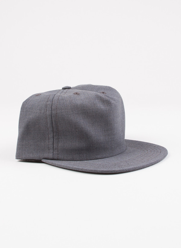 Men's Norse Projects Three Ply Tropical Cap Charcoal