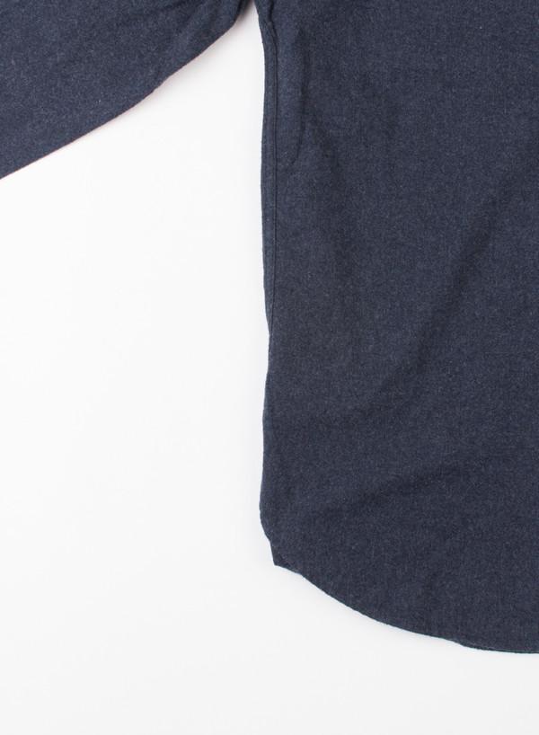 Men's Alex Mill Yarn Dye Flannel Shirt Heather Navy
