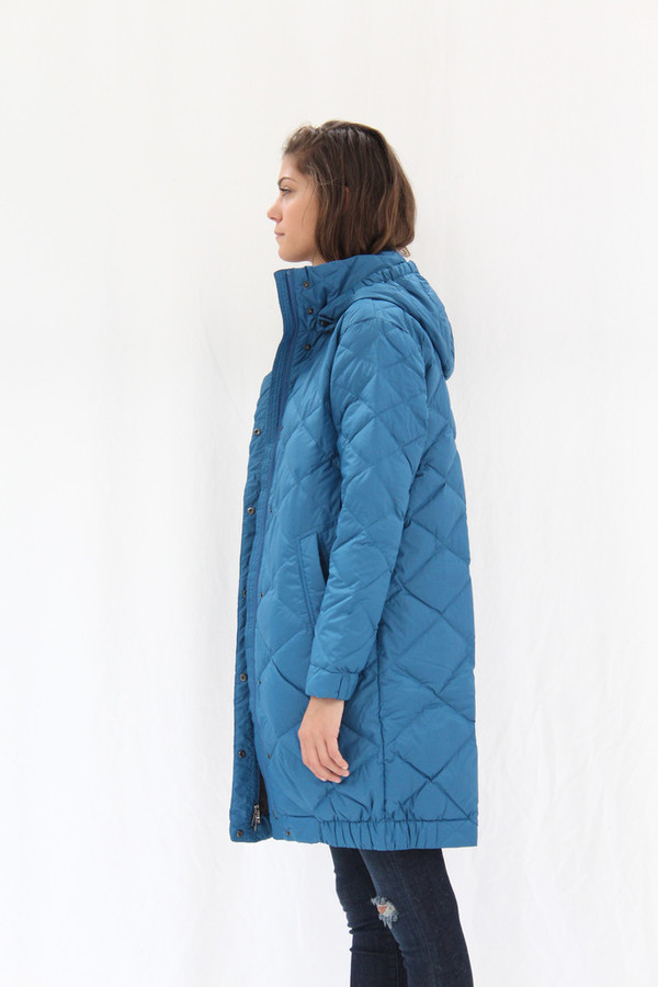 Down Cocoon Trench Blue