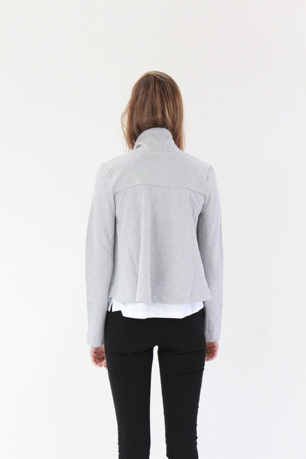 Kowtow Boundless Cardigan Grey