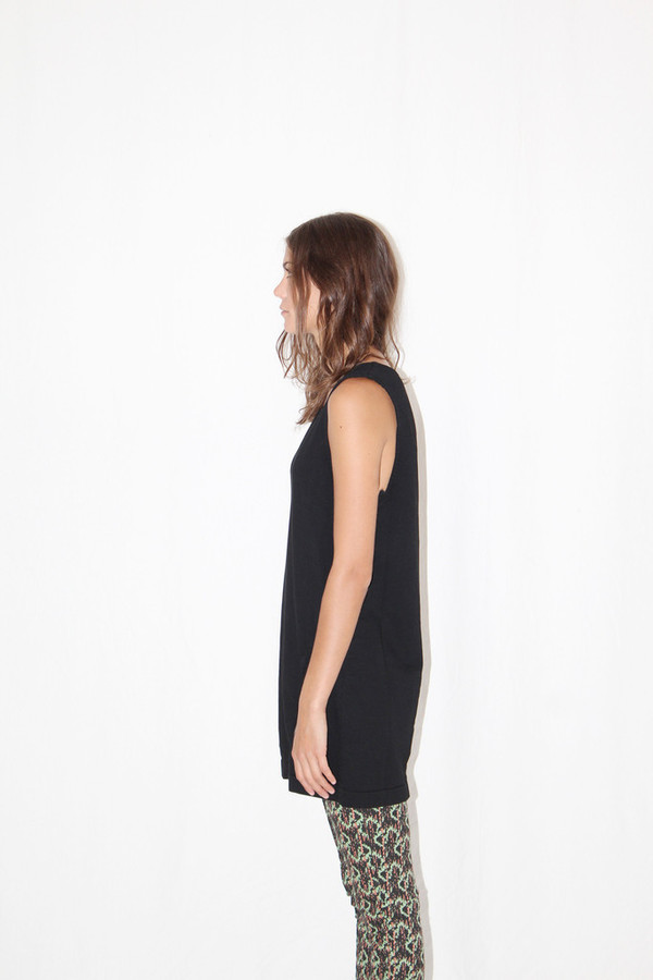 Prairie Underground Trip Tunic Dress Black