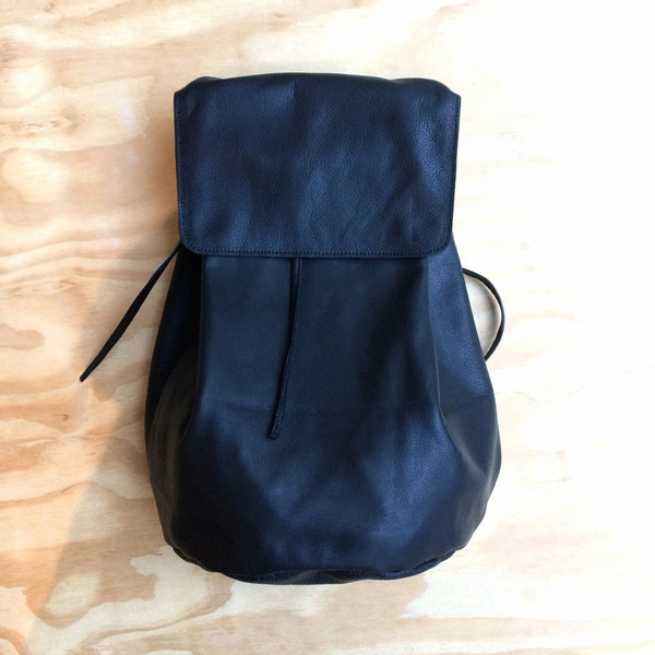 Marie Turnor Leather Backpack