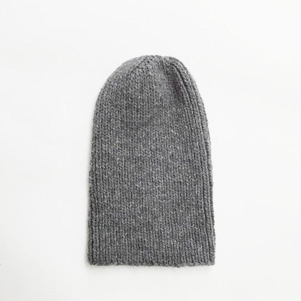 Johan Grey Alpaca Hat