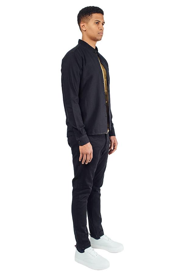 Men's YMC Ribbed Collar Shirt