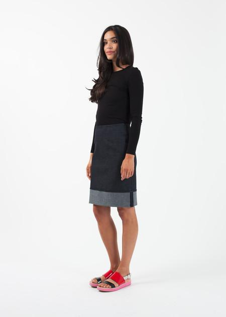 Harvey Faircloth Cuffed Skirt