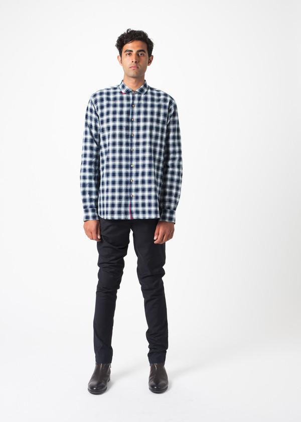 Men's Pero Large Check Shirt
