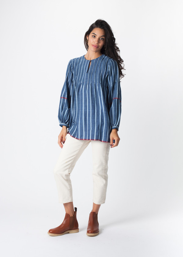 Pinched Top Blouse