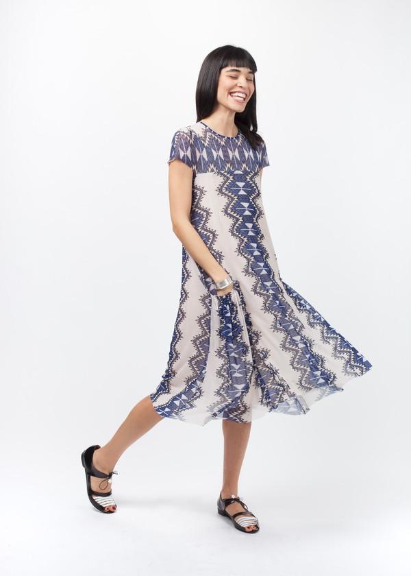 Amelia Toro Printed Tulle Dress