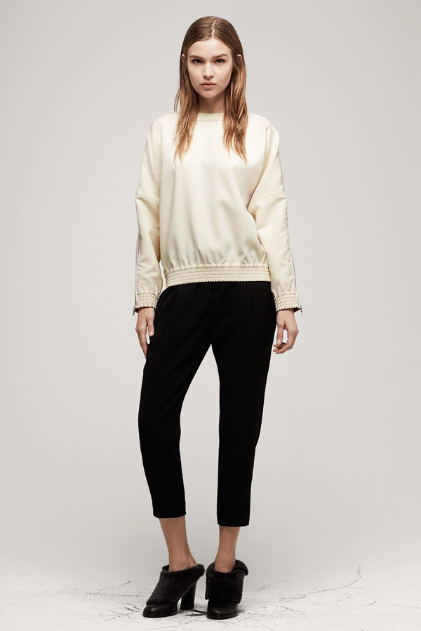 Rag & Bone Zip Top