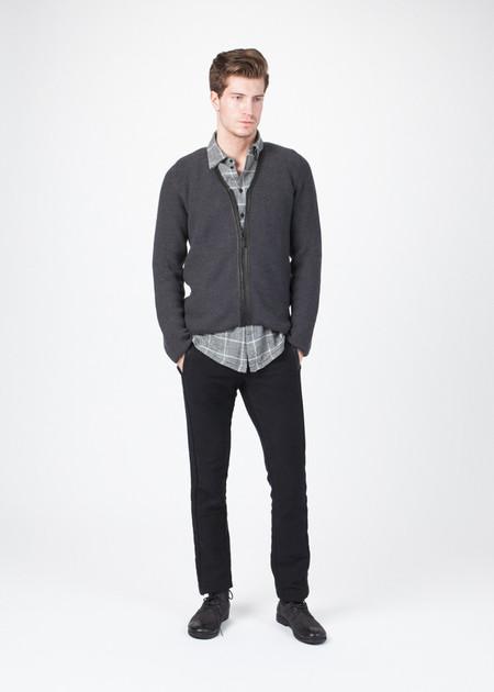 Men's Hannes Roether Ringo Zip Up Sweater
