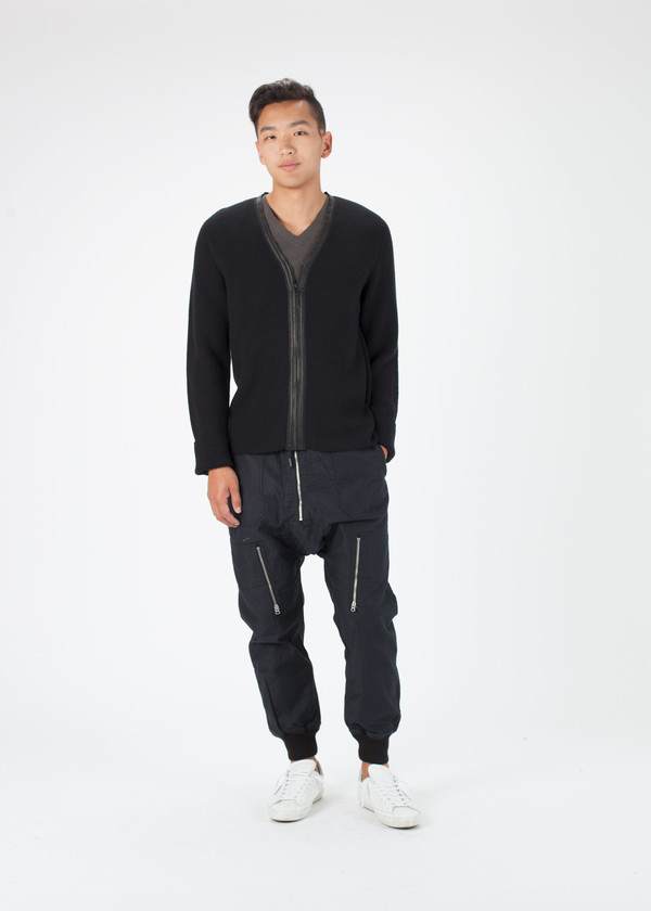 Men's Hannes Roether Ringo Zip Up Sweater