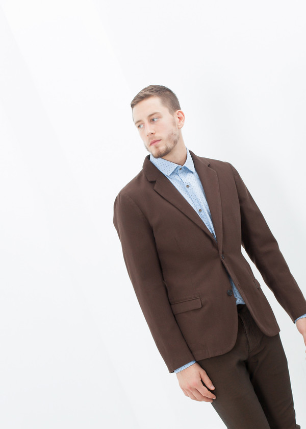 Men's Pence Sport Jacket in Brown