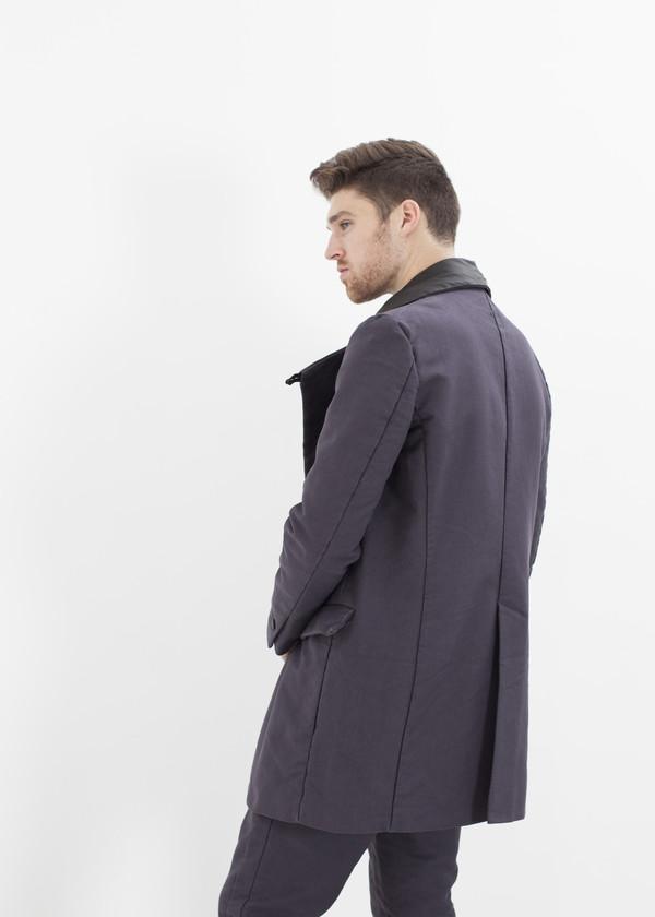 Men's Hannes Roether Taban Coat in Phantom