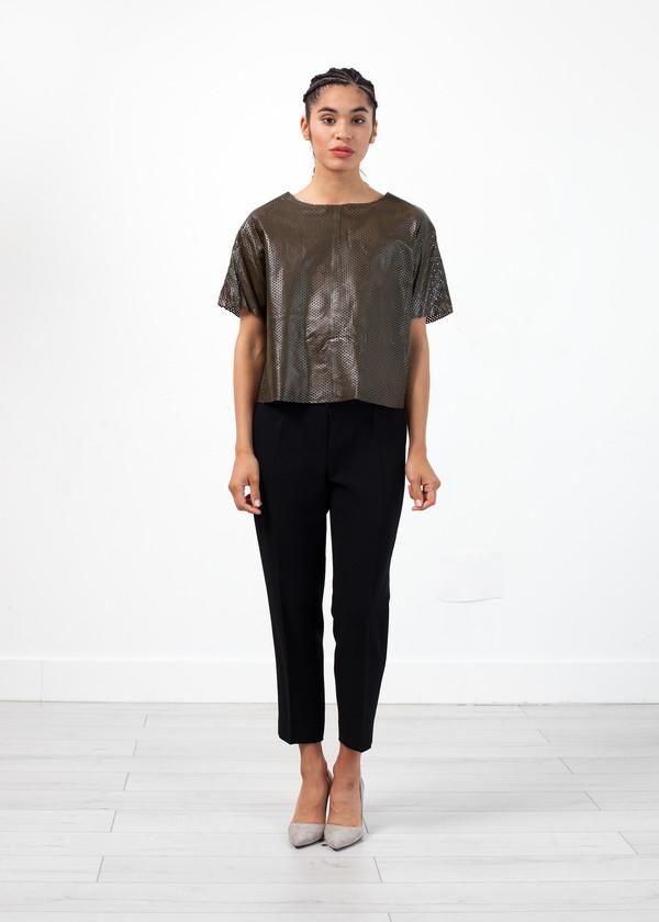 Amelia Toro Wool Crepe Pant