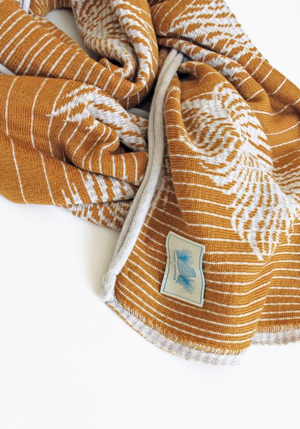 Emdal Colorknit Kimono Scarf