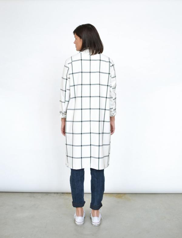 BB Dakota Check Coat