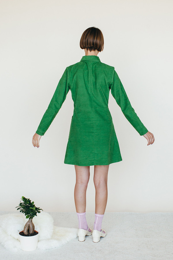 Leap Dress - Green