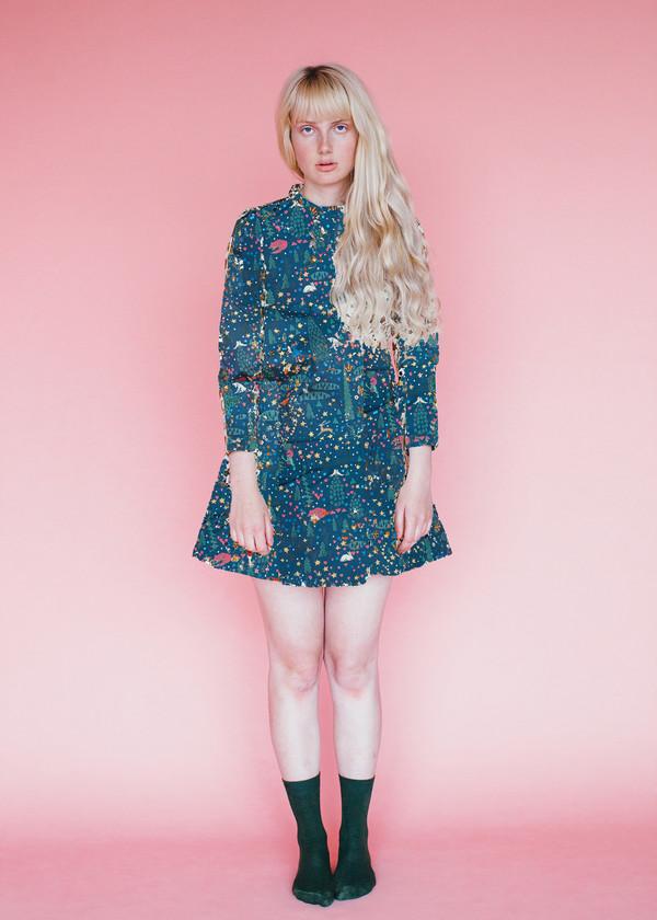 Passion Dress - Wonderland Print