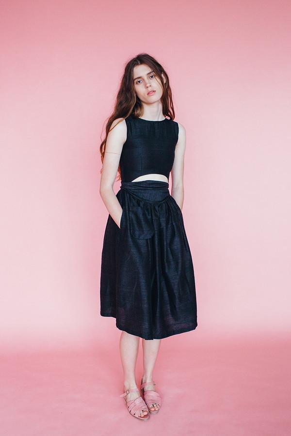 Satyr dress - black
