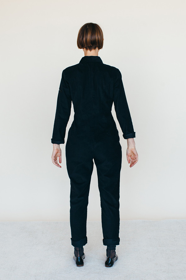Space Suit - Black Corduroy
