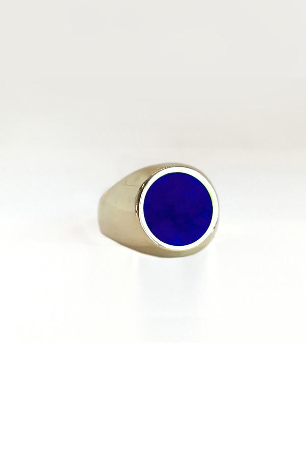 Legier & Livaudais Round Stone Ring
