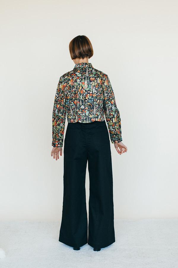 Samantha Pleet Moon Shirt - Floral