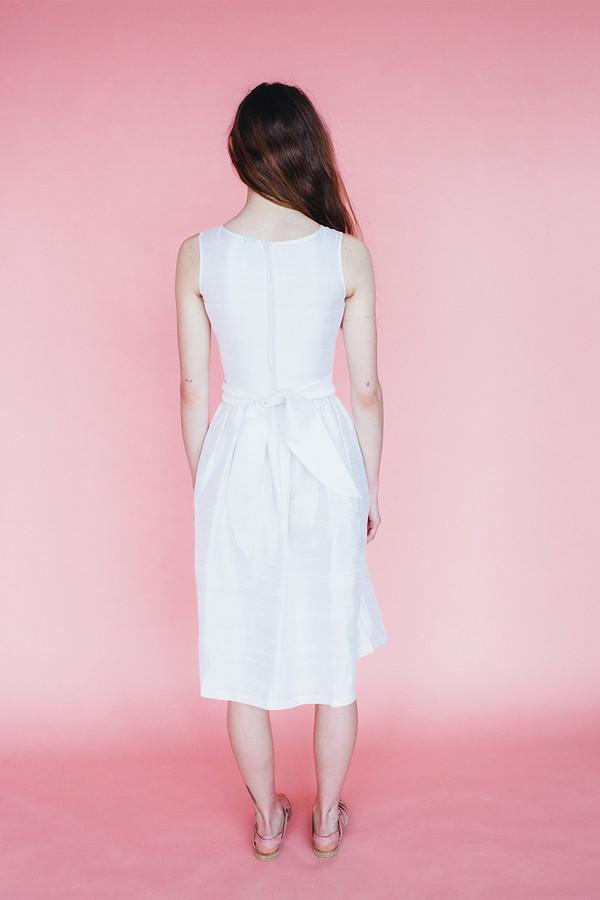 Samantha Pleet Satyr dress - ivory