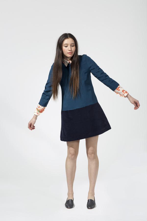 Carleen Two-Tone Dress