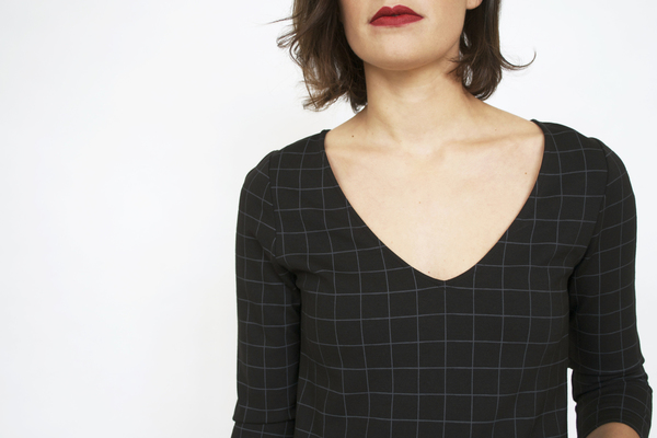 Sanctuary Essential En Vogue Windowpane Dress