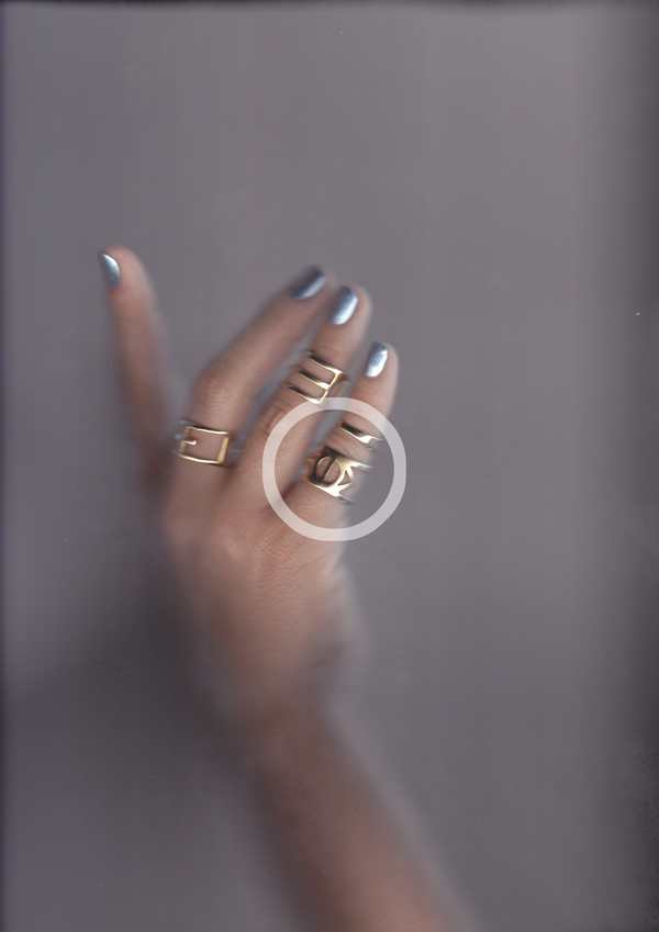 ALYNNE LAVIGNE Eye Ring