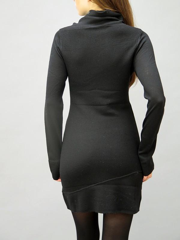 NFP Long Sleeve Snap Turtleneck Dress