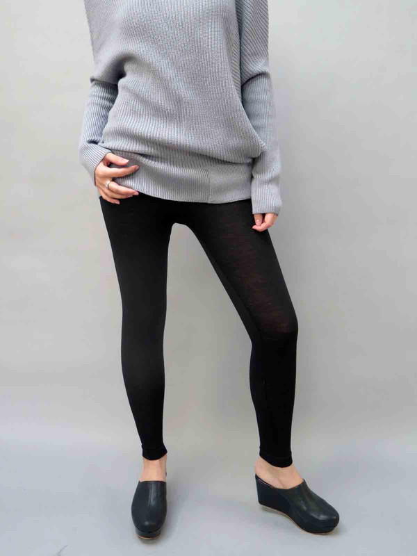 WOL HIDE High Waisted Merino Wool Leggings